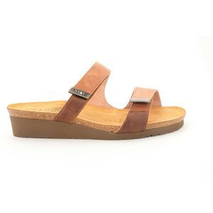 Naot Jacey Sandals Brown Saddle Sterling 39() 5719